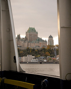The ferry to Quebec City...