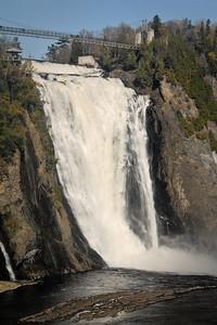 Montmorency falls...