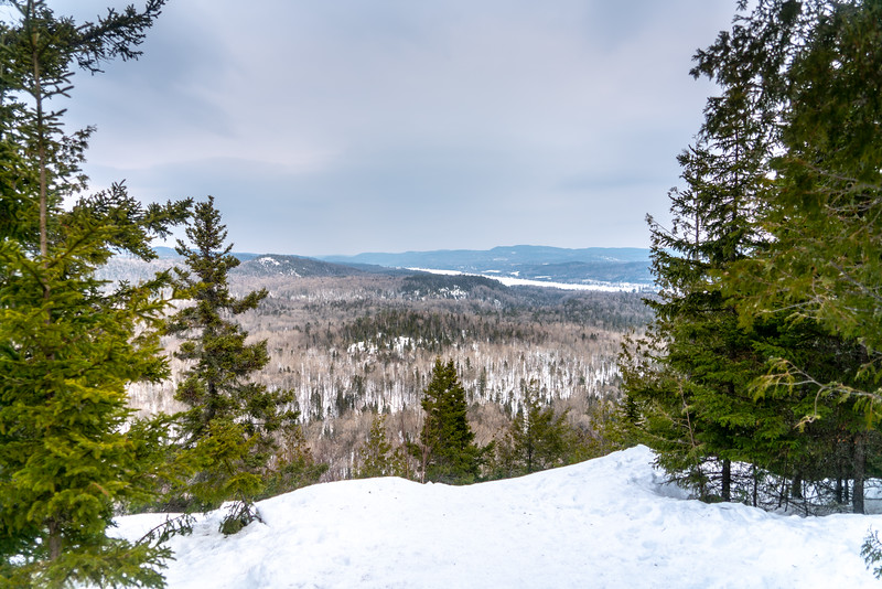 Winter in La Mauricie National Park