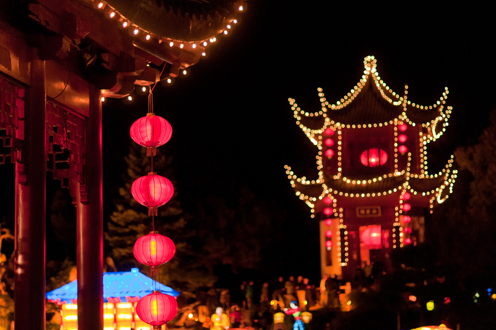 The Chinese Lantern Festival in Montreal