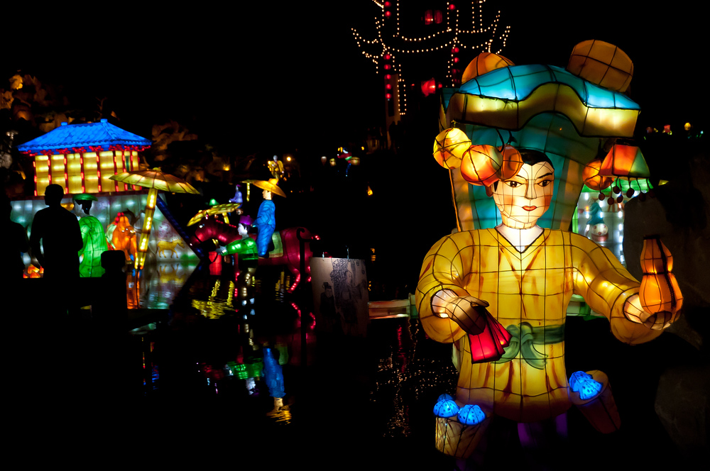 Lantern festival in Montreal, Quebec