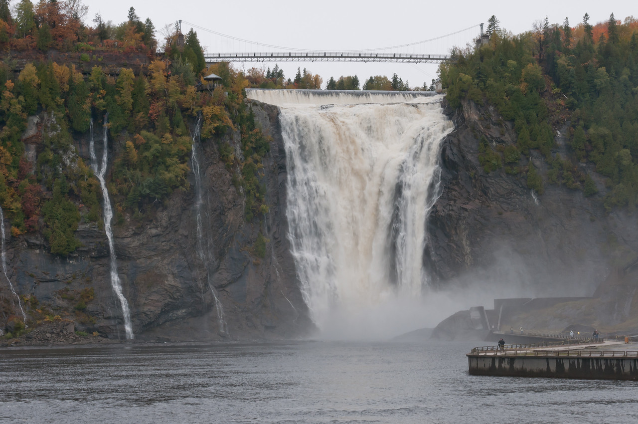 Montmorency Falls in Quebec City, Quebec, Canada
