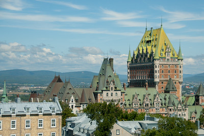 Chateau Frontenac in Quebec City, Quebec, Canada