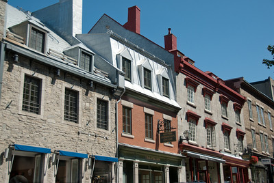 Historic buildings in Old Quebec, Quebec City, Canada