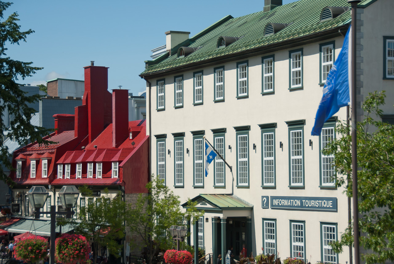 Tourist information office in Quebec City, Quebec, Canada