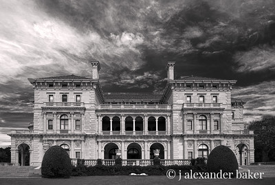 The Breakers, Newport RI - with perspective lens correction in Photoshop CS6