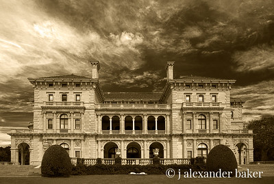 The Breakers in Sepia - with perspective lens correction in Photoshop CS6