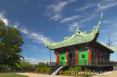 Japanese Tea House, Marble House, Newport, RI