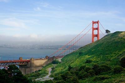 Golden Gate Bridge from Marin County