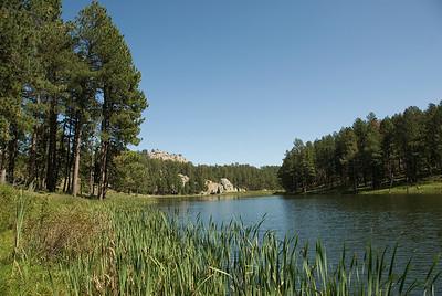 Sylvan Lake in Black Hills, South Dakota