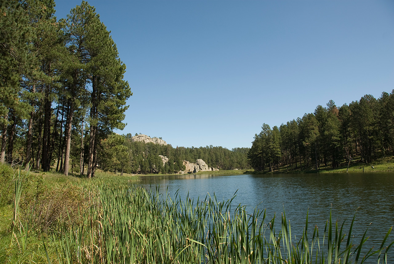 Sylvan Lake in Black Hills, South Dakota