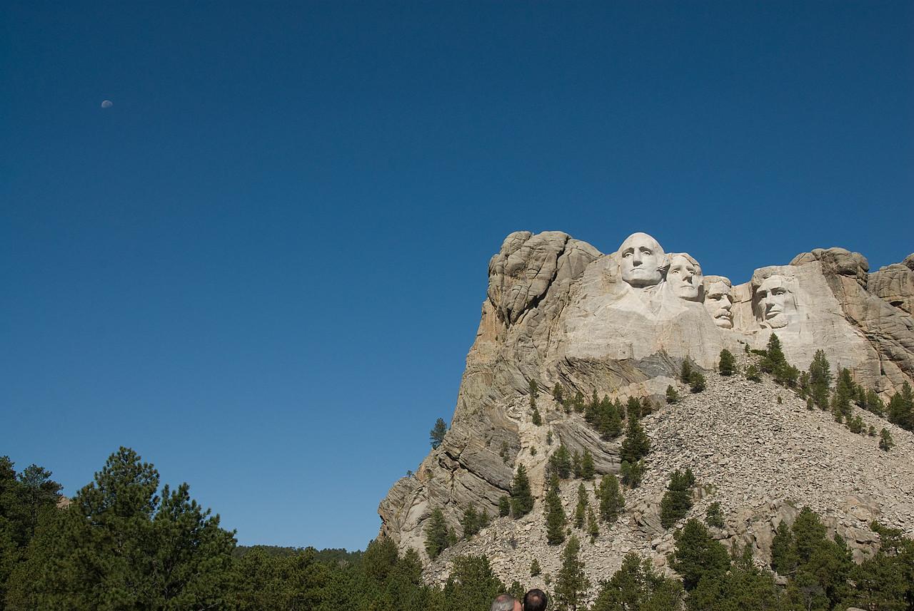Mount Rushmore in Black Hills, South Dakota
