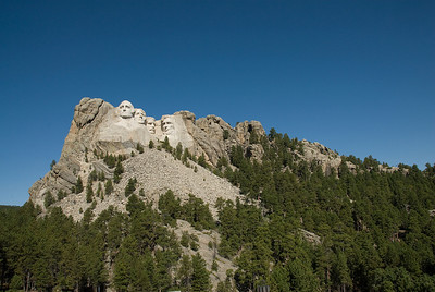 Mount Rushmore in Black Hills, South Dakota