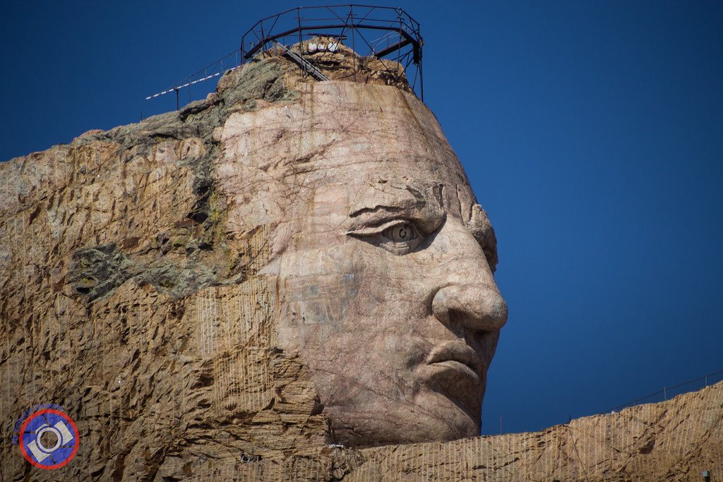 Crazy Horse Sculpture in South Dakota (©simon@myeclecticimages.com)