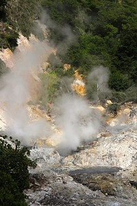 The Sulphur Springs Soufriere, St. Lucia
