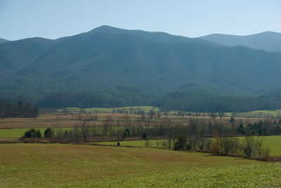 Scenic landscape in Great Smoky Mountains, Gatlinburg, Tennessee
