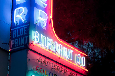 Neon lights in Austin, Texas