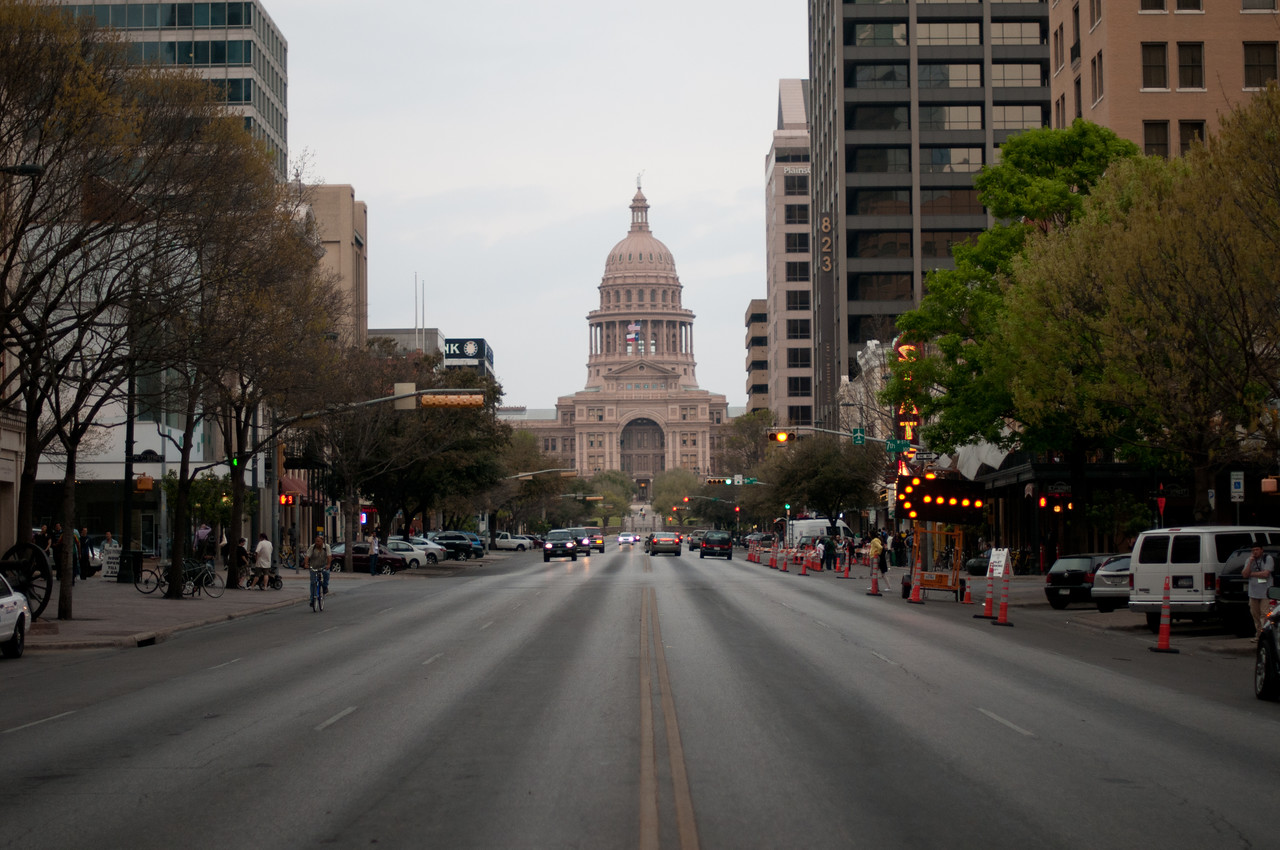 The Texas Capitol Building in Austin