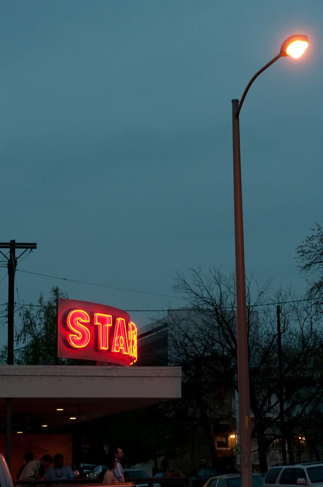 Star Bar in West 6th Street in Austin, Texas