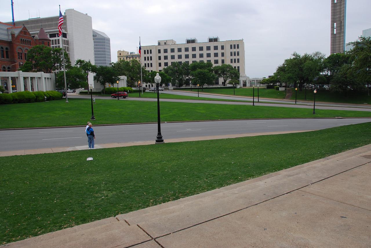 Dealey Plaza Historic District in Dallas, Texas