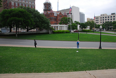 Dealey Plaza Historic District in Dallas, Texas