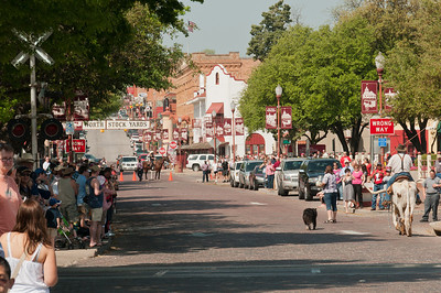 Fort Worth Stockyards in Fort Worth, Texas