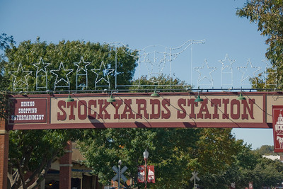 Stockyards Station in Fort Worth, Texas