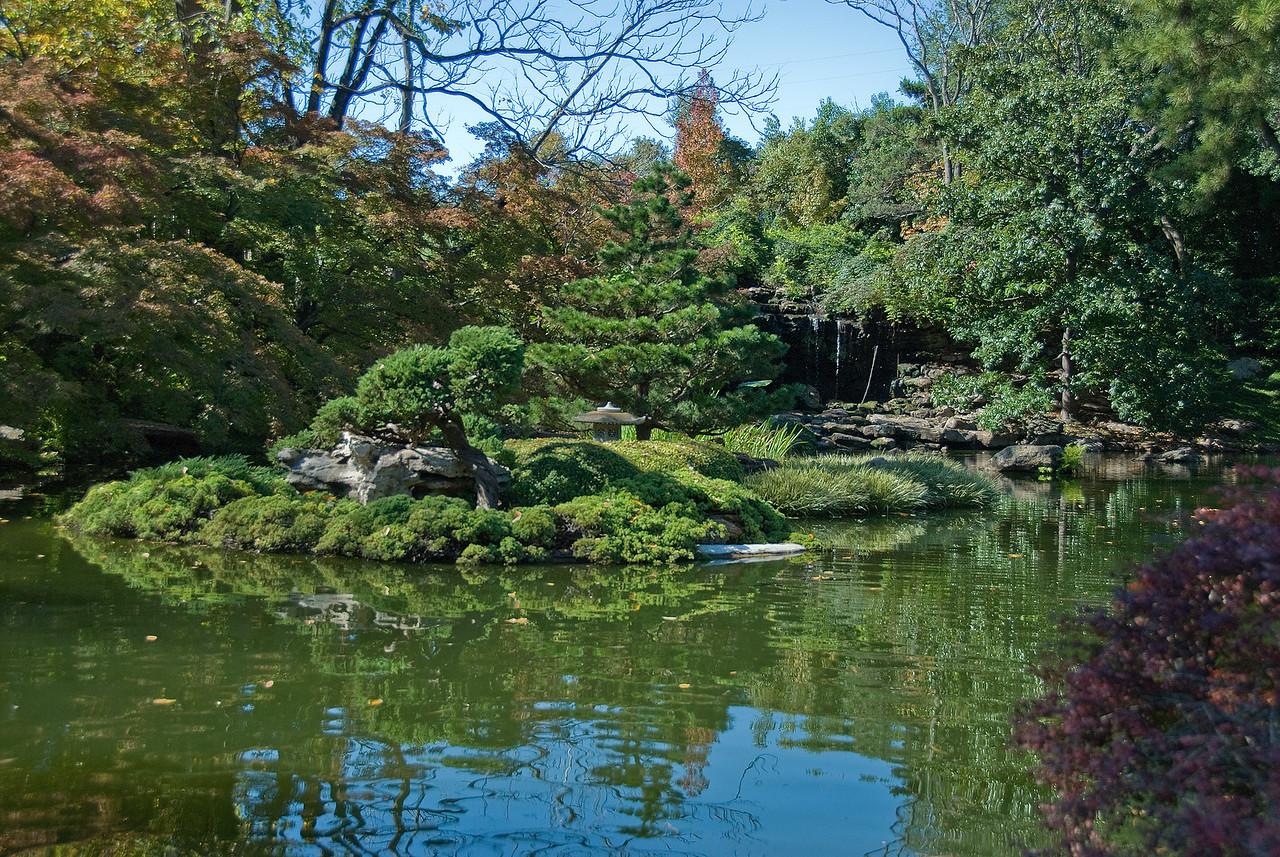 Botanical Garden in Fort Worth, Texas