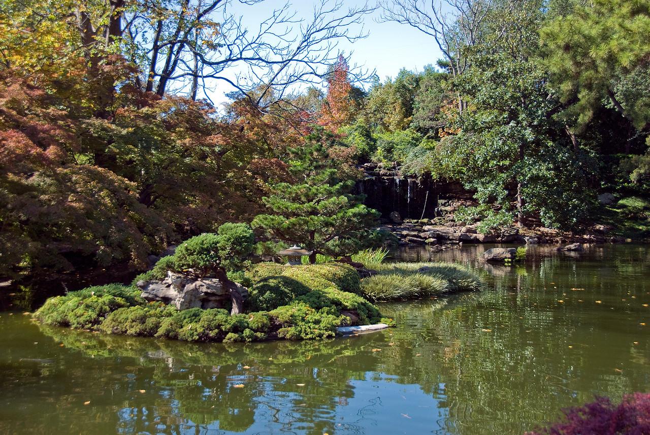 Botanic Garden in Fort Worth, Texas