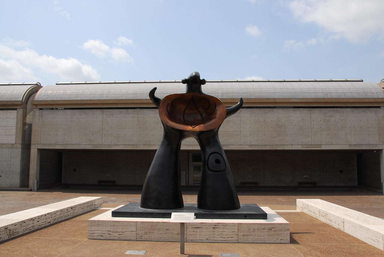 Woman Addressing the Public by Joan Miro in Kimbell Art Museum, Fort Worth, Texas