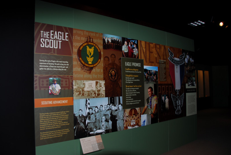 National Scouting Museum in Irving, Texas