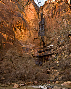 The falls at Zion