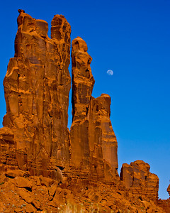 The Winter Dancers.  Monument Valley