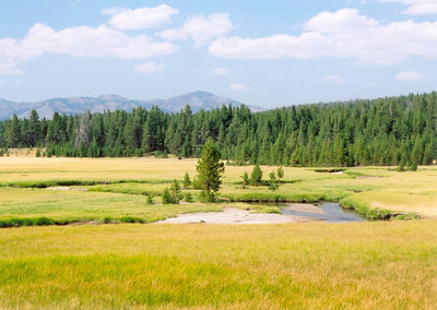 Hike to Wrangler Lake, Yellowstone National Park