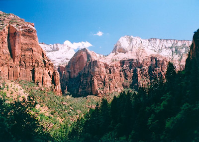 View from Emerald Pools trail, Zion National Park