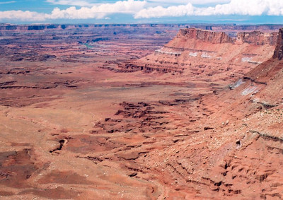 The Canyonlands from the Needles lookout