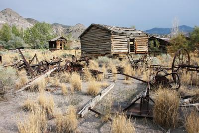 Old barns, Monroe, Utah