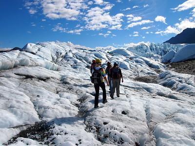 Matanuska Glacier in Alaska