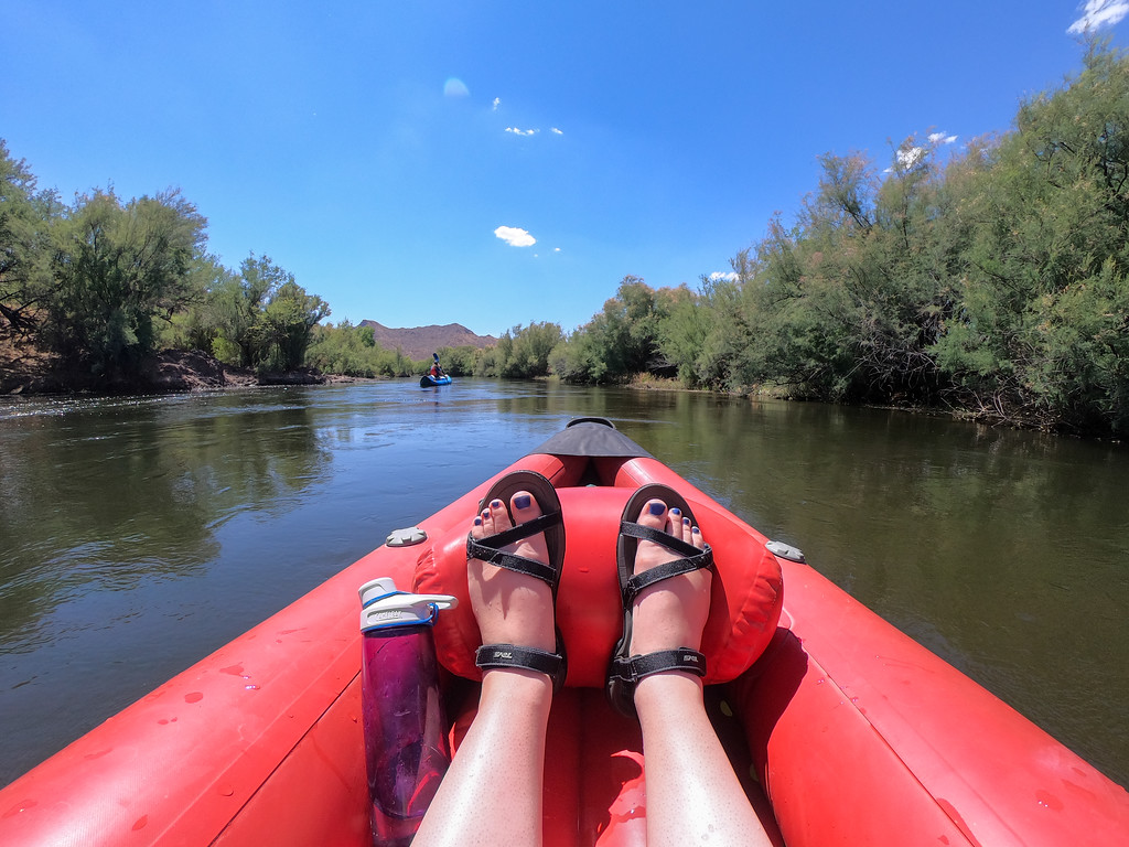 Kayaking the Lower Salt River