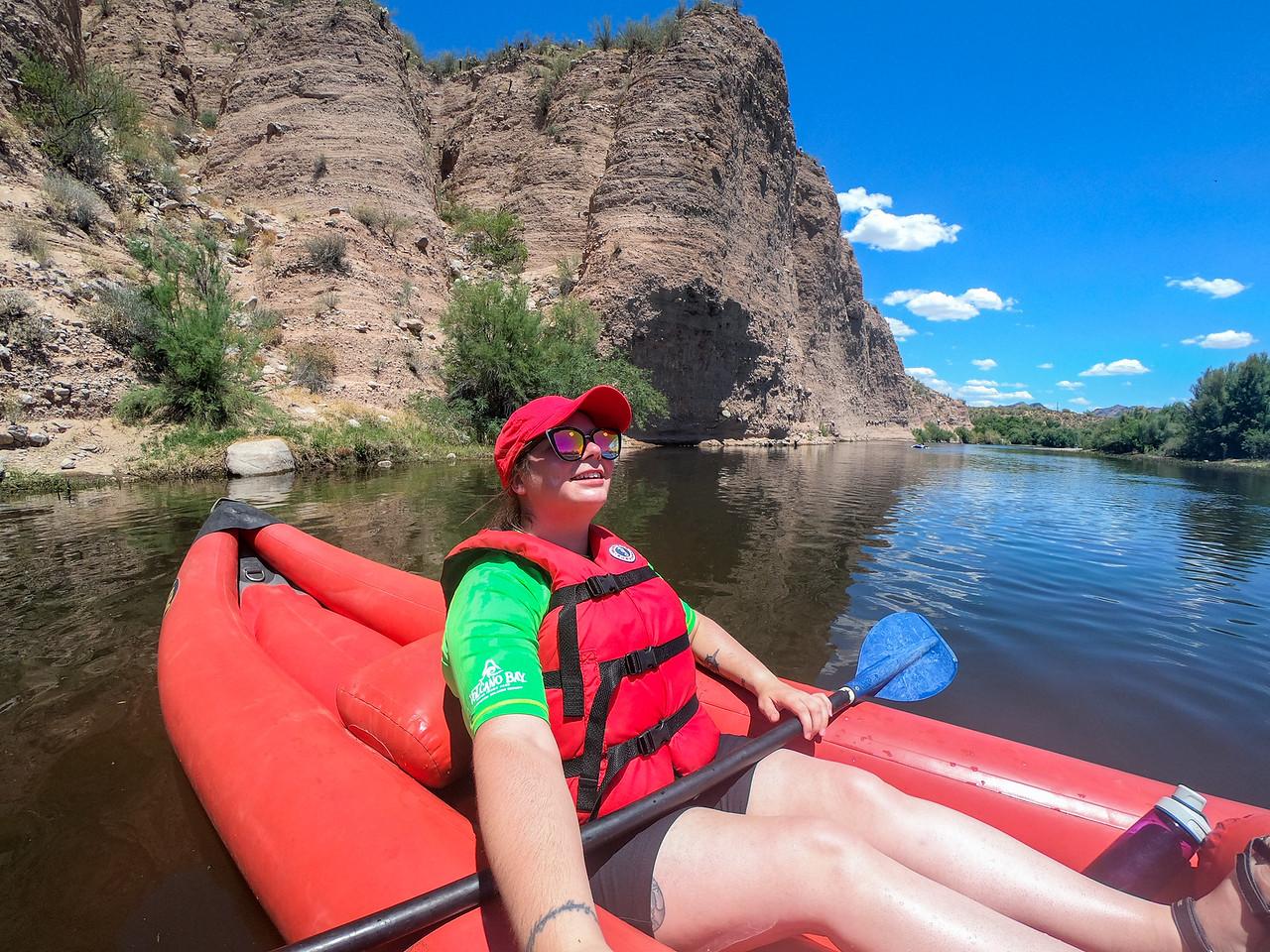 Kayaking the Lower Salt River in Arizona
