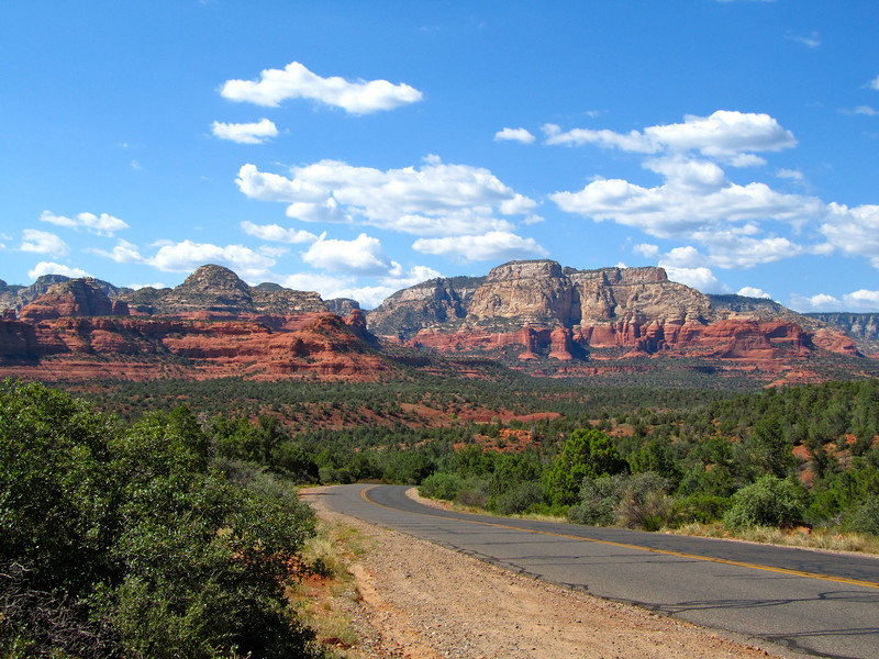 Road in Sedona, Arizona