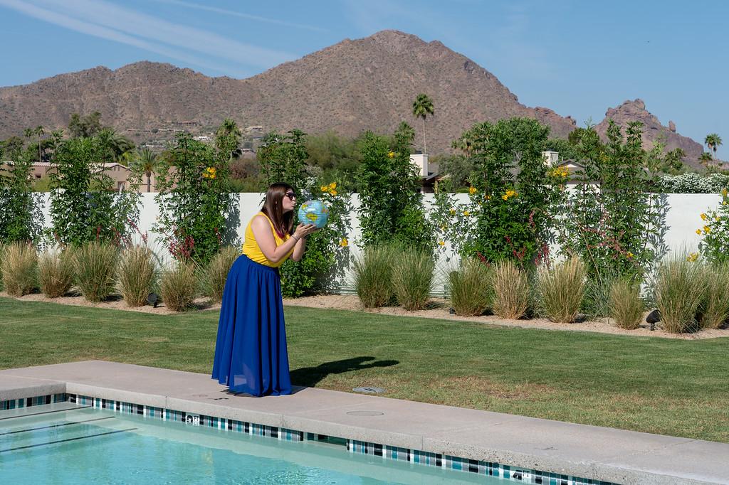 Amanda at the Andaz Scottsdale
