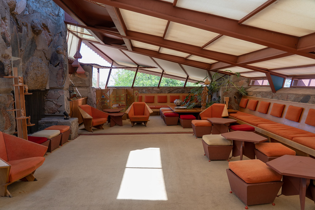 Taliesin West living room