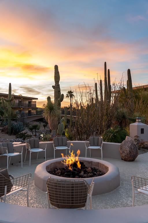 Sunset at CIVANA Wellness Resort and Spa