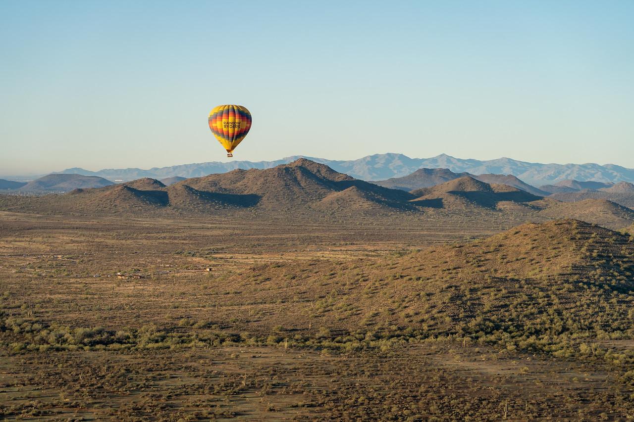 Hot air balloon in Phoenix, Arizona