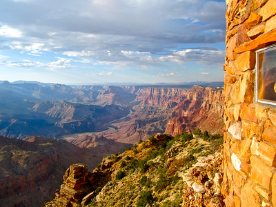 Desert View at the Grand Canyon South Rim