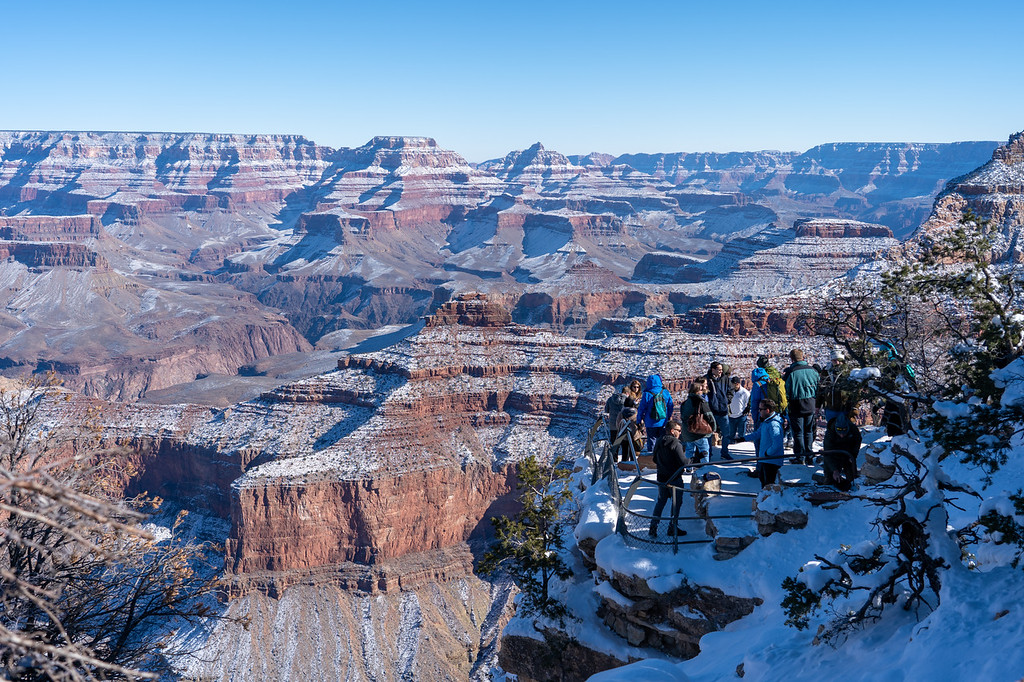 Yavapai Point at the Grand Canyon