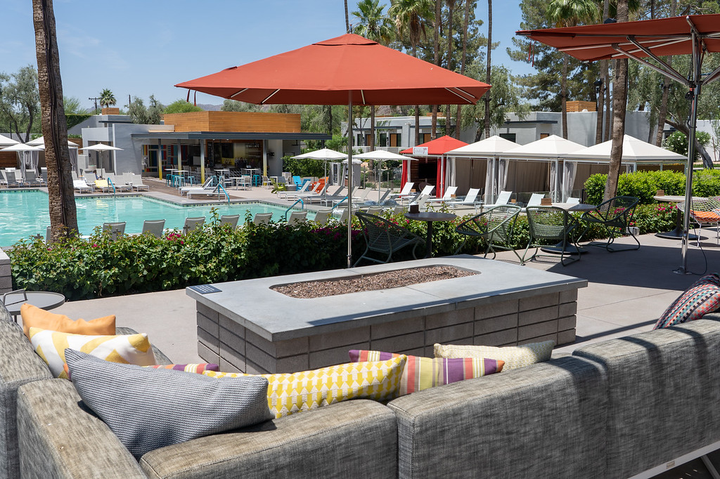 Andaz Scottsdale Resort pool area