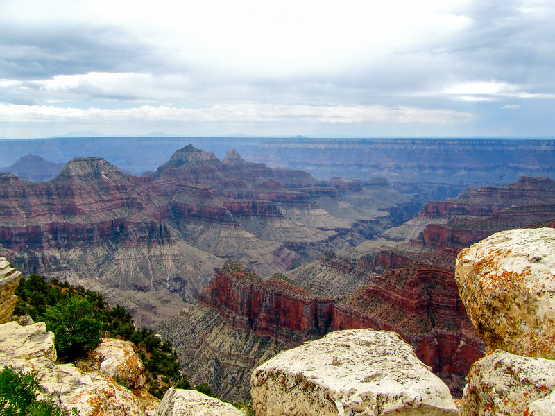 North Rim views from Bright Angel Point