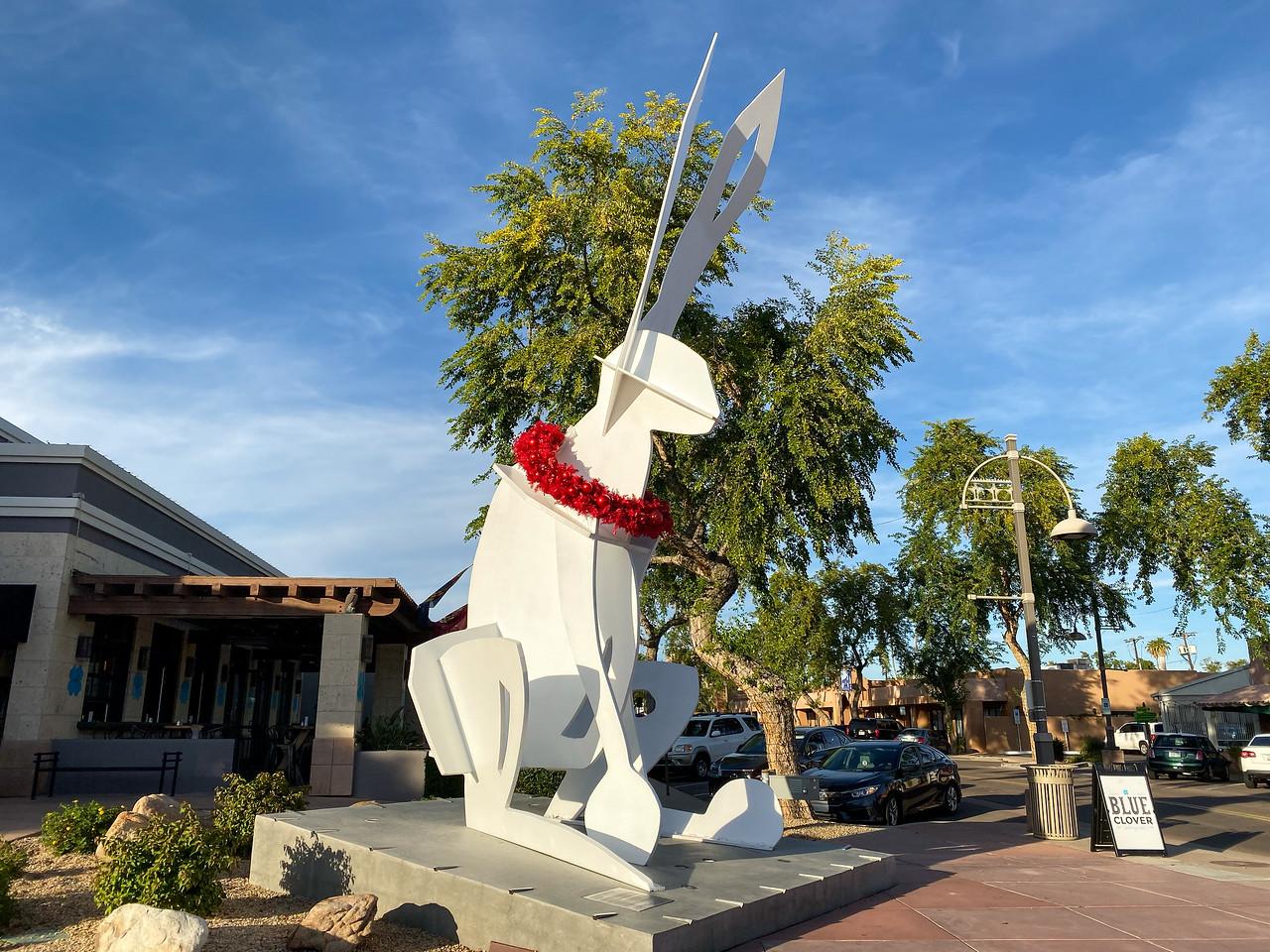 Public art in Old Town Scottsdale
